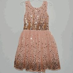 isabeeTWEENS:fiveloaves twofish peach party dress