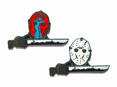 #Repost @igorslab  There was that time that Jason came to my city and no one batted an eye. Here are the Jason Takes Manhattan pins. Two versions color mask and white mask. Both pins are 2 inches hard enamel and have 2 post with rubber backers. The pin is limited to 100 and goes for $10.00 plus shipping. Get yours at igorslab.bigcartel.com  #jason #jasontakesmanhattan #fridaythe13th #horrorpingame #horrorpin #horrormerch  #lapelpin #enamelpin #pingame #patchgame #pincollector #pincollection…
