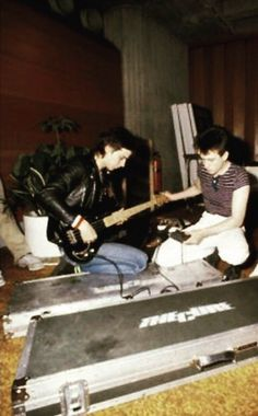 Simon and Robert of The Cure