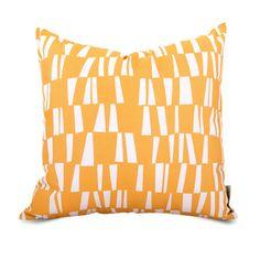 Rattan Pillow - Large in Citrus