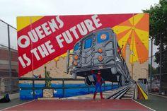 photo street art spiderman comics marvel queens new york nyccrazygirl