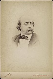 Check here for information pertaining to Gustave Flaubert's life.  http://en.wikipedia.org/wiki/Gustave_Flaubert #flaubert