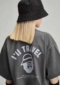 #티셔츠 #그래픽 #반팔티 #오버핏 #반팔 #반팔티셔츠 #DRAWING #GRAY #TRAVEL #FASHION Grey, T Shirt, Drawing, Gray, Supreme T Shirt, Tee Shirt, Sketches, Drawings, Tee