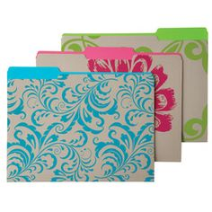 Terrace Letter-Size Interior File Folders