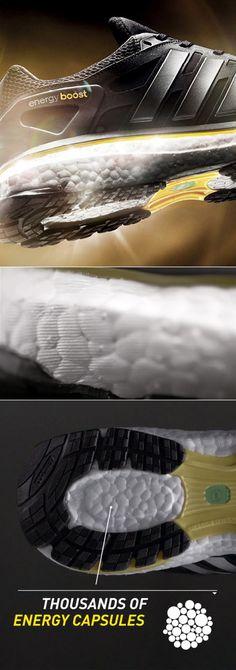 Adidas Energy boost pour la team #boostbelleville