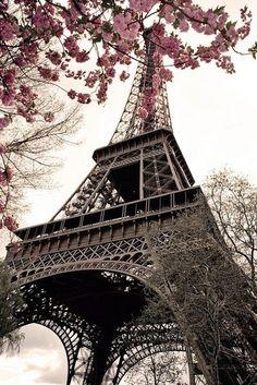 Paris in Springtime Eiffel Tower