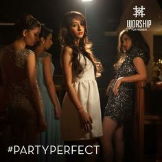 High heels and your favourite dress on- all you need is the perfect hair & makeup to be #PartyPerfect.  Come over and we will keep you coming back every weekend, for more