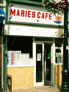 Maries Cafe, Lower Marsh, Waterloo.  3 course meal for less than a tenner (probably)