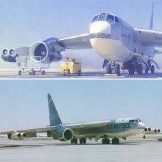 testing a Galaxy's engine. B52 Bomber, B 52 Stratofortress, Airplane Pilot, Command And Control, Aircraft Engine, Us Air Force, Submarines, Airplanes, Clock