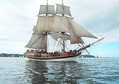 Half Moon Bay 365: Ship from famous movies- Lady Washington visits ...