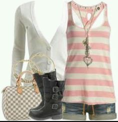 Pink and white summer :)