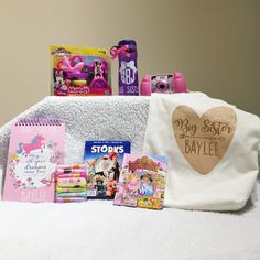 Gift from Brother. Gift from Brot Big Sister Bag, New Big Sister Gifts, Sister Day, Gifts For Brother, Baby Sister, Big Sisters, Big Sibling Gifts, Sisters Presents, Teddy Bear Party