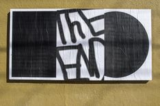 "Brian Walbergh, Ficciones Typografika 1641 (24""x36""). Installed on March 18, 2018. More: http://ficciones-typografika.tumblr.com/ FIN"