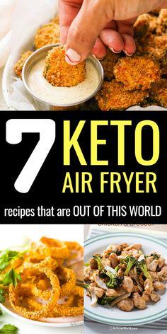 Air Fryer Recipes Dessert, Air Fryer Recipes Keto, Air Frier Recipes, Healthy Chicken Dinner, Keto Chicken, Healthy Stir Fry Sauce, Beef Tip Recipes, Air Fryer Fried Chicken, Air Fryer Healthy
