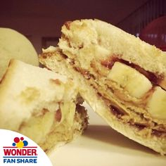 @animmatureman made one stuffed Wonder sandwich for lunch! What did you have today?