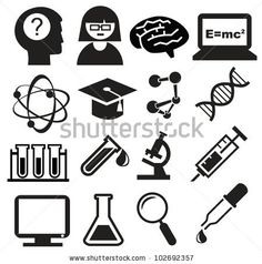 science icons - Google Search