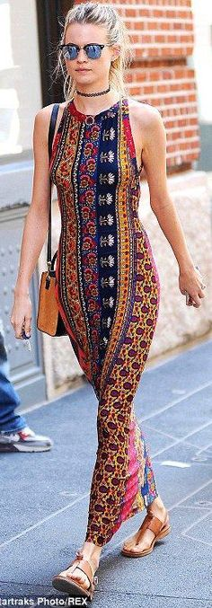 #street #fashion geometric Behati Prinsloo @wachabuy