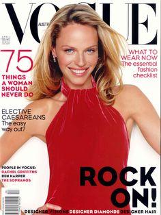 Rachel Roberts by Richard Bailey for Vogue Australia April 2000