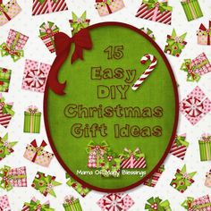 Holiday Gift Giving ~ 15 Creative DIY Christmas Gift Ideas to fit anyones budget! #Christmas #ChristmasGiftIdeas