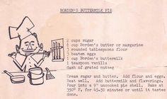 or pie...buttermilk pie (crack pie)