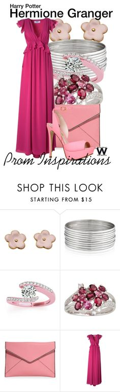 """""""Harry Potter - Prom Inspirations"""" by wearwhatyouwatch ❤ liked on Polyvore featuring West Coast Jewelry, Allurez, Rebecca Minkoff, MSGM, ALDO, Prom, harrypotter, wearwhatyouwatch and film"""