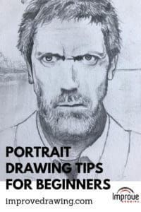 Portrait Drawing Tips For Beginners - Improve Drawing - Hobbies paining body for kids and adult Drawing Skills, Drawing Techniques, Drawing Tutorials, Drawing Lessons, Watercolor Techniques, Painting Tutorials, Drawing Reference, Art Tutorials, Art Lessons