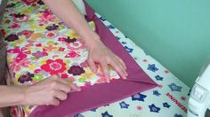 SCROLL DOWN TO SEE THE VIDEO Kate's Big Binding Quilt The wide Binding uses the quilts batting as part of the Binding. It's a different technique and once you learn how to use it may replace the need add borders in some quilts. Reminds us of the Baby Blankets with the silky ribbon edges. The back …