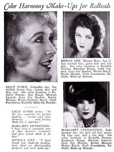1931 Max Factor Color Harmony Make-Up
