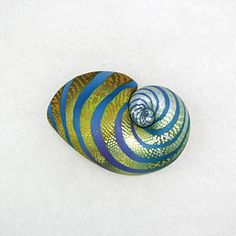 Shell Brooch  Cool Jewel