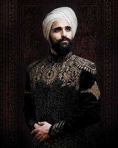 Dress for my Four Niggas Sherwani Groom, Mens Sherwani, Wedding Sherwani, Indian Wedding Wear, Wedding Dress Men, Wedding Suits, Indian Groom Dress, Indian Men Fashion, Men's Fashion