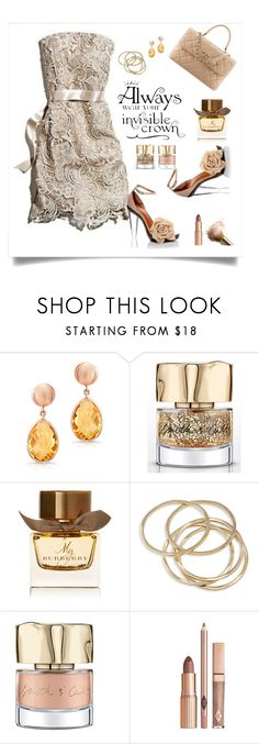 """""""princess"""" by tato-eleni ❤ liked on Polyvore featuring Anne Sisteron, Smith & Cult, Burberry and ABS by Allen Schwartz"""