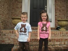 Build a Bear Workshop Birthday Shirt,