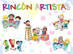 COSITAS PARA EL COLE: CARTELES RINCONES Ideas Para, Clip Art, Classroom, Organization, Teaching, Education, Crafts, Bella, Kid Art