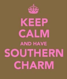Or go crazy and smile. They love that smile with the southern accent. It makes everything okay!