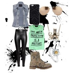 Cool outfit by ryebehrens on Polyvore featuring polyvore fashion style 5 Preview maurices H&M Coolway Kiel Mead Studio Daisy Jewellery Linda Farrow