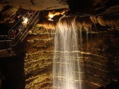 One of Missouri's deepest caves in Silver Dollar City - Branson, Missouri Landscaping Around Deck, Luxury Landscaping, Landscaping Rocks, Vacation Places, Vacation Destinations, Vacations, Vacation Ideas, Places To See, Places Ive Been