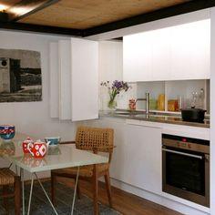Small Spaces - studio apartment idea
