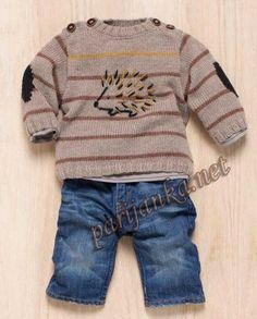 Малышам Baby Boy Knitting, Knitting For Kids, Cardigan Bebe, V Neck Cardigan, Baby Boy Outfits, Kids Outfits, Baby Shop Online, Crochet For Boys, Boys Sweaters