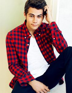 Dylan O'Brien...he is just too cute.