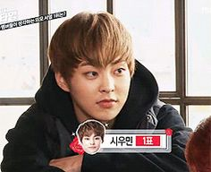 "The day my faves, Xiumin & Lu Han (EXO) picked each other as ""the most handsome member"".  (.gif set)."
