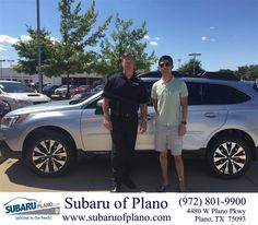 https://flic.kr/p/yv8Qhr | Congratulations Alex on your #Subaru #Forester from Darrell Hair at Subaru of Plano! | deliverymaxx.com/DealerReviews.aspx?DealerCode=K252
