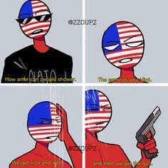 America recreating a vine Funny Video Memes, Stupid Funny Memes, Human Flag, Comics In English, Fandom Jokes, Mundo Comic, Country Men, History Memes, Flags Of The World