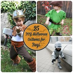 25 Totally Awesome DIY Halloween Costumes for Boys