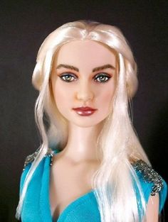 About KHALISEE: Dove repaint by Annie as Khalisee Mother of Dragons ...