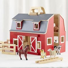 Fold and Go Farm $49. Get up to 9% cash back plus more great deals when you purchase through RebateGiant. http://www.rebategiant.com/store/494/the-land-of-nod.html