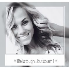 """When life puts you in tough situations… Don't say """"WHY ME"""" say """"TRY ME"""""""