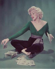 Marilyn Monroe photographed by John Florea, 1953