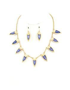Purple Dag Necklace