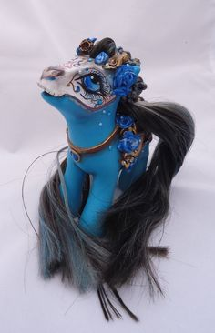 My little pony custom Dia de muertos Angelica by AmbarJulieta.deviantart.com on @deviantART