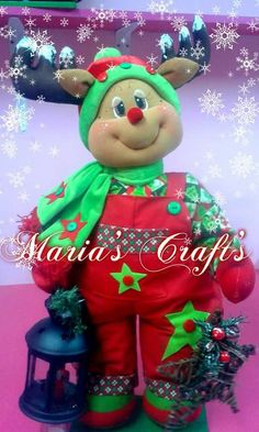 Renin Christmas Crafts, Christmas Ornaments, Diy And Crafts, Faces, Holiday Decor, How To Make, Xmas Decorations, Molde, Baby Dolls